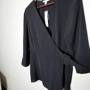 🎉SALE🎉Top Shop Scarlett wrap blouse